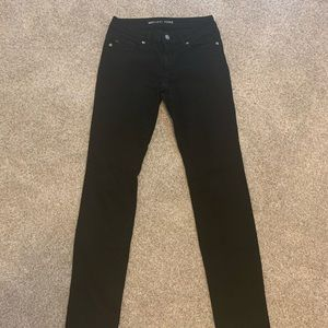 Black Michael Kors jeans women's 0!